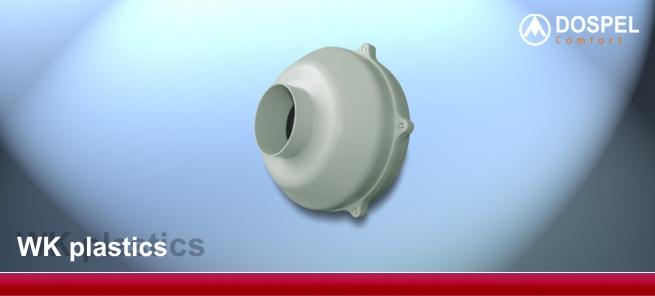 Внешний вид вентилятора и исполнение Dospel WK plastics 315